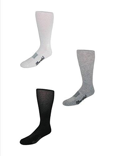 Wrangler Men's Dry Wick Western Boot Sock (Pack of 3)
