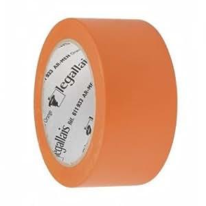 TUBConcept - Ruban Adhésif Vinyle Orange - 50mm x 33Mètres
