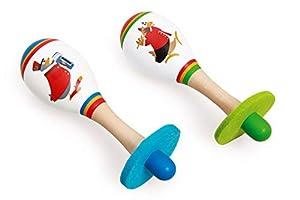 Scratch- Juguetes electrónicosInstrumentos Musicales para niñosSCRATCHScratch Music: Maracas Fanfare diam.4.5x14.5cm, 2 Designs, in Display, 12m