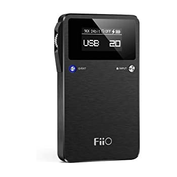 FiiO E17 for K – Headphone Amplifier – Black