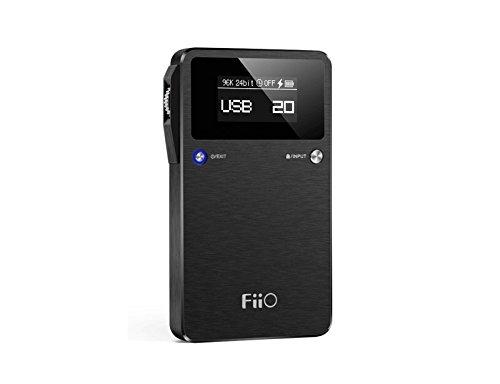 Fiio E17K–Amplificateur pour casque, Noir
