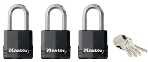 pack-of-3-high-security-outdoor-padlocks-with-long-shackle-and-keyed-lock-47-mm-45-mm