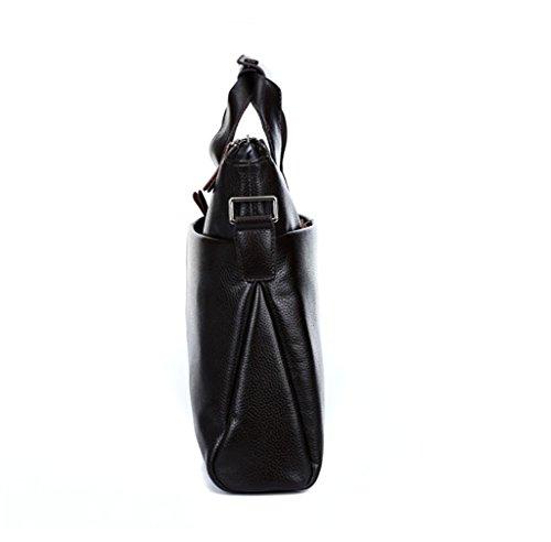 SUNLONG , Sac pour homme à porter à l'épaule Marron marron taille unique noir