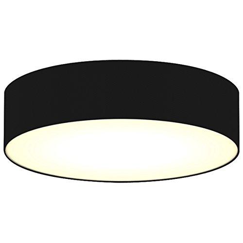 Plafón Mia 6000.543 de Ranex – 40 cm – Negro