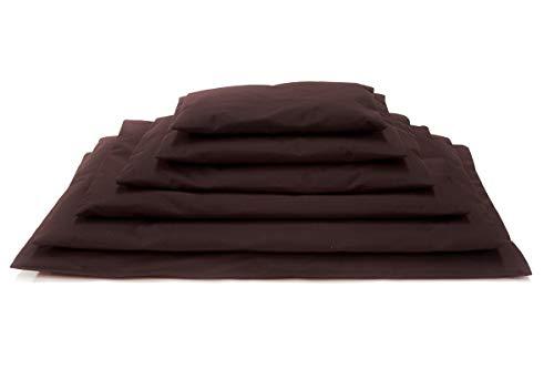 Comfort-Kussen 3BM1-AW-CAC Komfort Haustier-Bett & Kistenmatte bei jedem Wetter, 50x35x3 cm, kakao/braun -