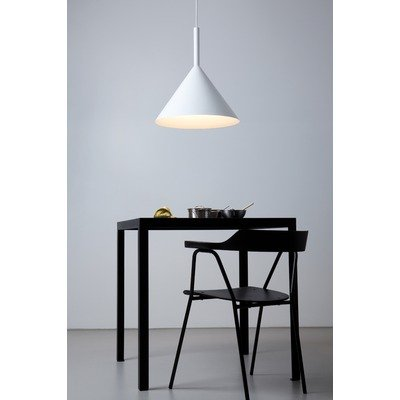 Vertigo Bird v02014 5201 C, Funnel Suspension, aluminium, blanc, 45 x 45 x 50 cm