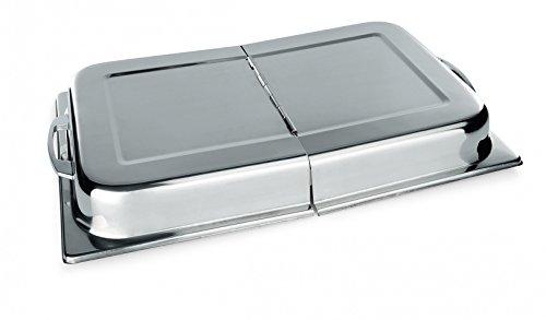 Deckel Vorratsbehälter Scharnier (Scharnier Deckel für GN Behälter Edelstahl GN 1/1 - auch für Chafing Dish)