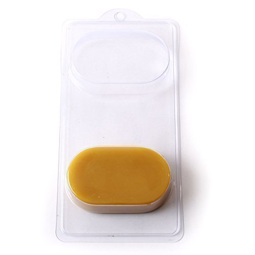 Stampo per Saponetta Oblunga a 4 Cavit� per Saponette o Bomba da Bagno A01