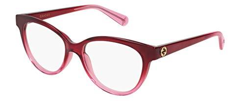 Gucci Damen Brillengestell Rot Fumo Medium