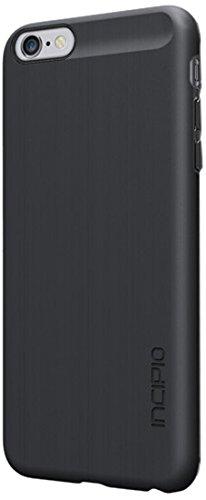 Incipio IPH-1193-PNK Feather Case - sehr dünne & leichte Schutzhülle mit Innenpolsterung für das Apple iPhone 6 Plus - pink Alu Look schwarz