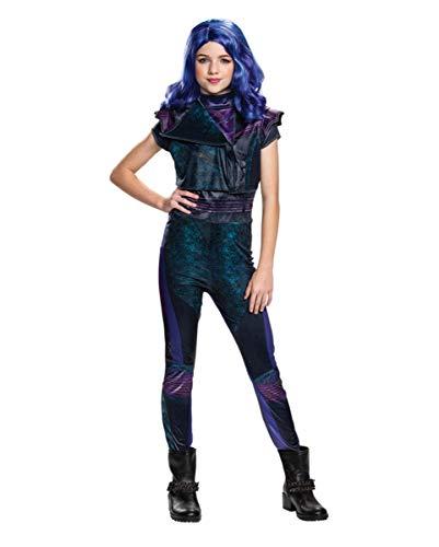 Nachkommen Disney's Kostüm - Horror-Shop Descendants Mal Classic Kinderkostüm für Karneval und Halloween 10-12 Jahre