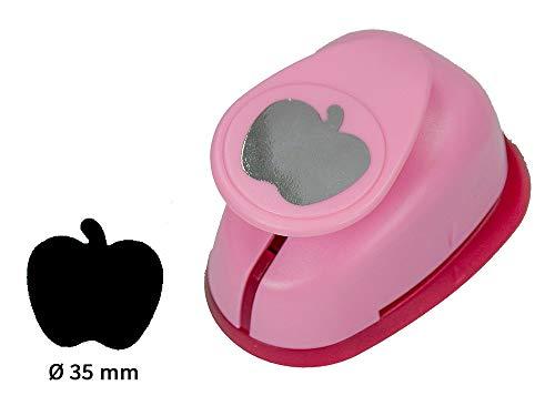 Sescha Motivlocher/Papierstanzer Apfel von EFCO - Größe L: 35mm Durchmesser