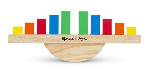 Melissa & Doug 15197 Balance Arc en Ciel Jouet Éducatif en Bois