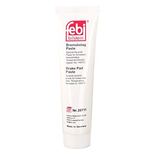 febi bilstein 26711 Bremsenpaste für Scheibenbremsbeläge (100 g, spezial Keramikpaste bis 1.400°C) -