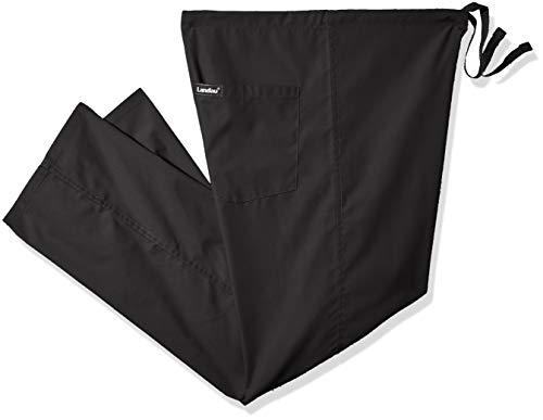 Landau Men's Unisex Reversible Drawstring Scrub Pants Bkp Landau