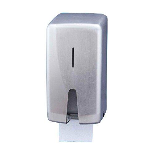 Jofel AF55000Futura Toilettenpapierhalter doppelt, Edelstahl satiniert, für 2Rollen
