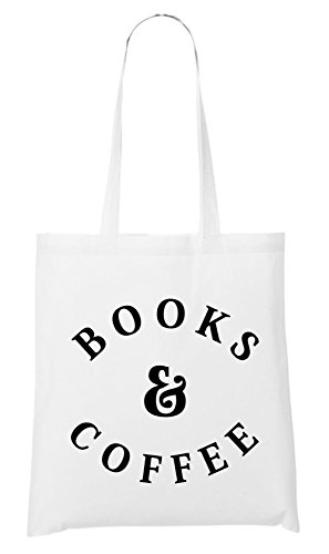 Books & Caffee Bag White Certified Freak