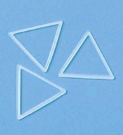 597-30 100 PC-Eingang Hamanaka Handwerk & Stricken Strick Ring Dreieck (Japan Import / Das Paket und das Handbuch werden in Japanisch)