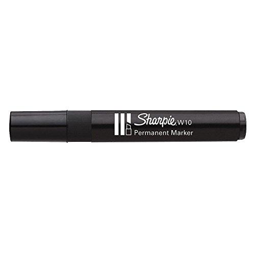 sharpie-marqueur-permanent-w10-pointe-biseautee-noir