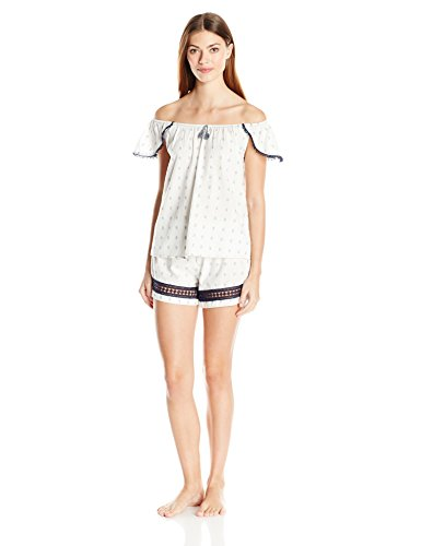 Lucky Brand donna   set pigiama Cloud Dancer
