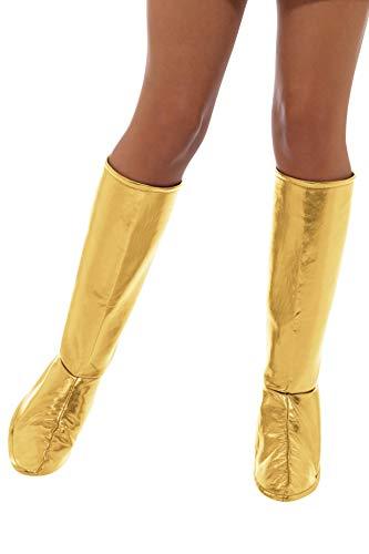 SMIFFY 'S 47372Gogo Stiefel Bezüge, Damen, Gold, One Size