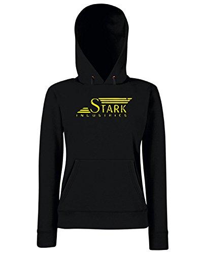 T-Shirtshock - Sweats a capuche Femme TF0053 inspired by stark 1942 Noir