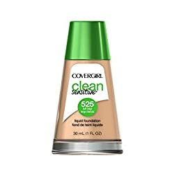 CoverGirl Clean Sensitive Skin Liquid Foundation, Buff Beige, 1 Fluid Ounce