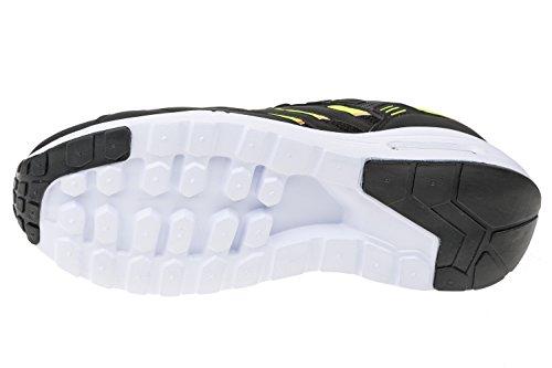 gibra , Chaussures de course pour homme Schwarz/Neongrün