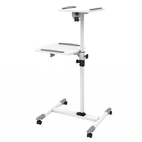 tragbarportabler Ständer für Projektor und Laptop,-Trolley und Sackkarre, Split-Top - Beamer Stand-wagen