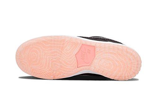 Nike Dunk Low Premium Sb, Scarpe da Skateboard Uomo atomic pink /black white