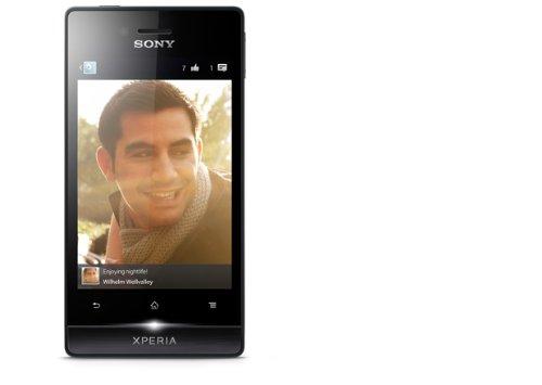 Sony Xperia Miro Smartphone, 3.5 Pollici, Nero...