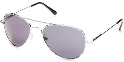 Ultrasport Aviator - Gafas de sol, color plateado