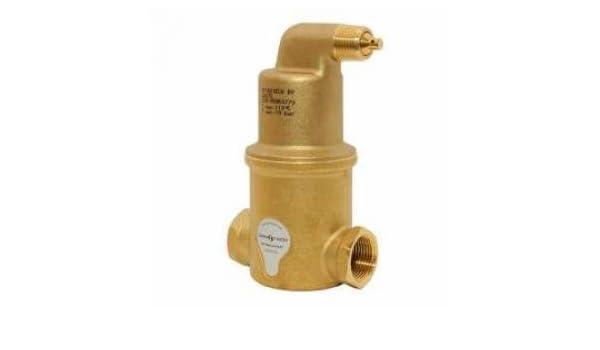 SpiroVent Mikroluftblasenabscheider Luft 22mm Klemmring AA022