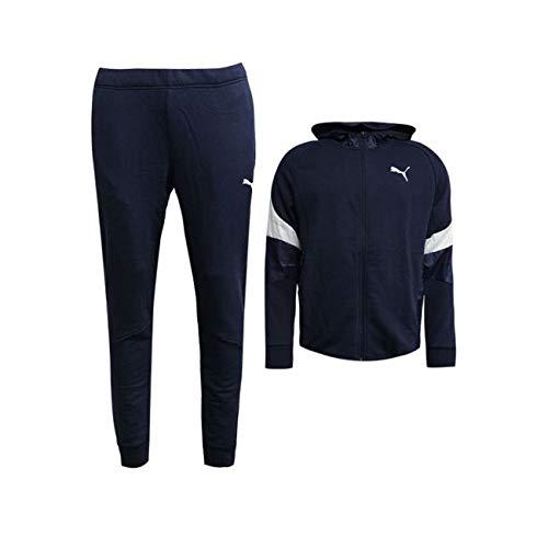 Puma Style GD Sweat Blu Abbigliamento uomo Tute [136176178
