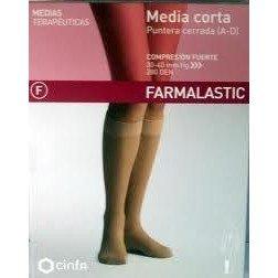 CINFA Farmalastic media corta normal negro med