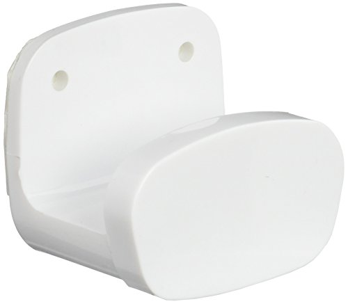 Brinox Percha Baño Adhesiva, Blanco, 5×4.5×3.7 cm