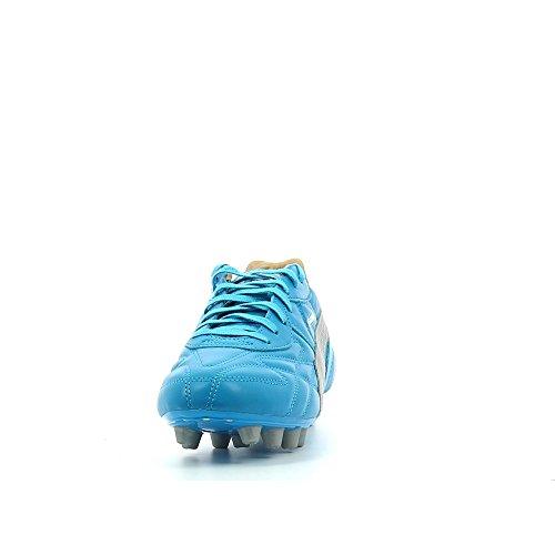 King Top City di Marseille FG - Crampons de Foot - Bleu/Argent Bleu