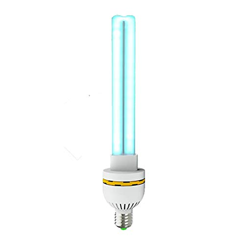 E-27 KeimtöTende Uv-Licht Uv-Desinfektion Lampe Uvc-Strahlen Und Ozon - TöTet 99,9% Der Bakterien Germ Viren Schimmel Effektiv, Quarz-Schlauch (Ss-schläuche)