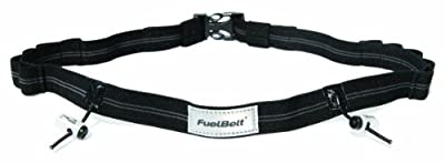 FuelBelt Startnummernband Gel Ready Race Number Belt, Black, 873855003515