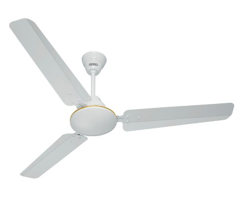 Usha Technix 1200mm 5 Star Ceiling Fan without Regulator (New White)