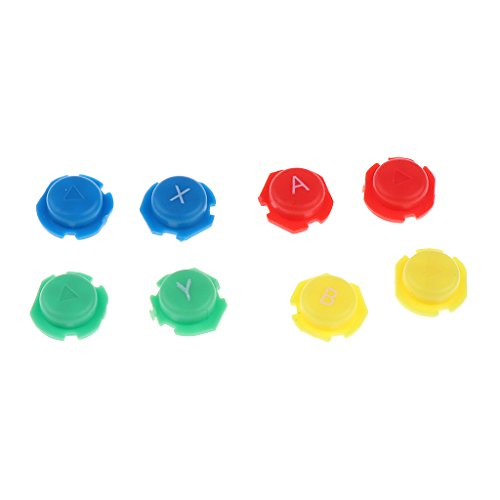 Homyl 8 Stück Thumbsticks Joystick Button knöpfe Tasten für Nintendo Joy-Con (Joy-button)