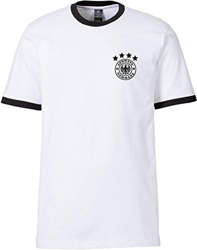 EZYshirt Damen Herren & Kinder WM 2018 Deutschland T-Shirt   Retro Trikot   Motiv 14