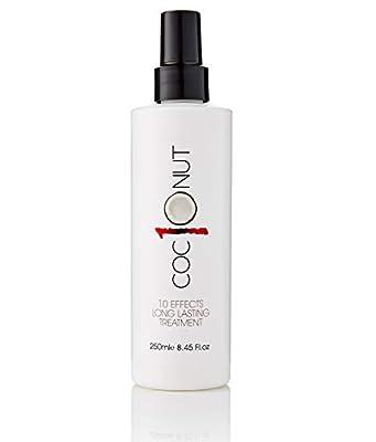 Kokos-Hitzeschutzspray Behandlung für trockenes