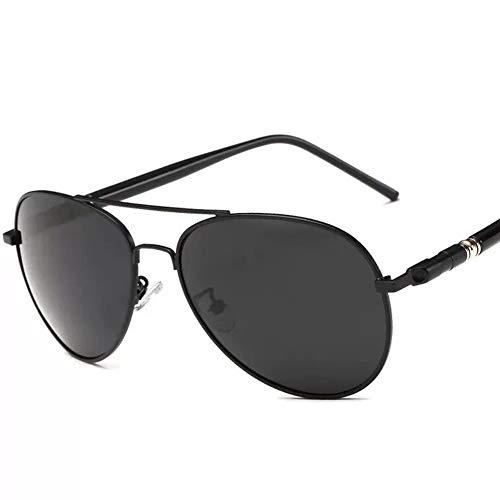 JWR Sonnenbrille für Herren, Polarized Aviator Spring Hinge 100% UV400 Protection Eyewear,No.1