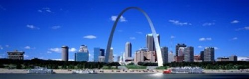 The Poster Corp Panoramic Images - Skyline St Louis MO USA Photo Print (91,44 x 30,48 cm) (St Louis Skyline Poster)
