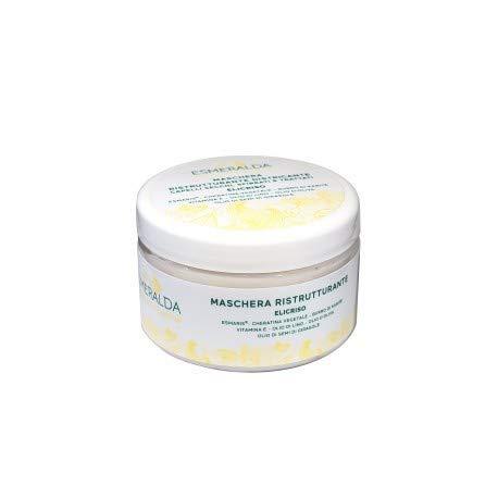 ESMERALDA COSMETICS - Umstrukturierende Haarmaske - für trockenes, sprödes und behandeltes Haar - Nickel-, Chrom- und Cobalt-Test - Nicht an Tieren getestet - Glutenfrei - 250 ml
