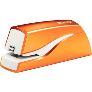 Leitz Heftgerät Wow elektrisch 10 Blatt orange