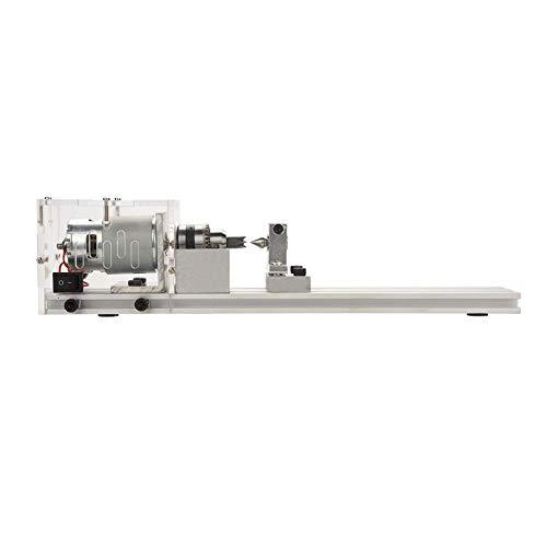 FTVOGUE Perlen Maschine Mini DIY Holzdrehmaschine Miniatur Buddha Perle Drehmaschine Schleifen Polieren(03)