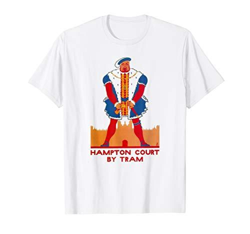 Vintage Underground Hampton Court London Tube British Poster T-Shirt -