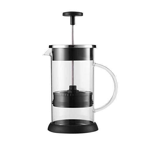 Fanyong Cafe Kaffeekanne Percolator Pumpe mit Griff Französisch Presse Kaffee Plunger Maker